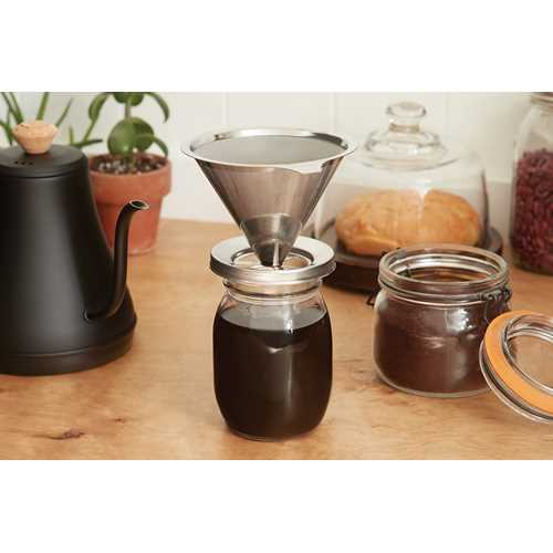Coffee Pour Over for jars!