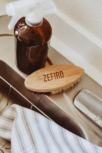 Zefiro Bamboo and Sisal Cleaning Brush