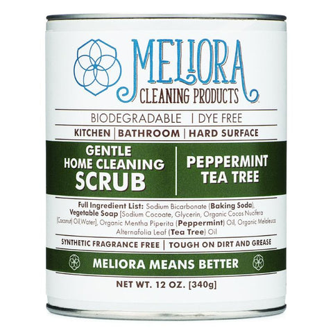 Meliora Gentle Home Cleaning Scrub - Peppermint Tea Tree