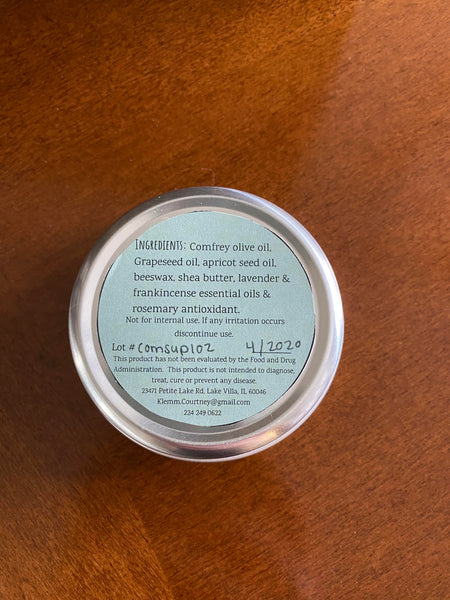 Innertwine Herbs - Comfrey Support Salve (2 ounce tin)