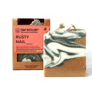 Rusty Nail Soap Bar by Soap Distillery