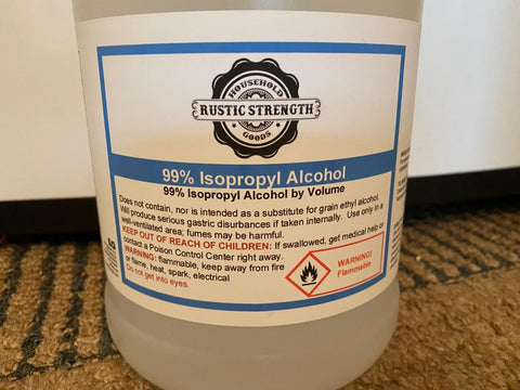 Rustic Strength - Isopropyl Alcohol