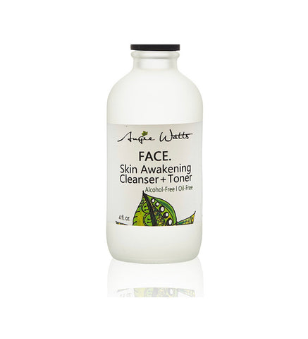 FACE. Skin Awakening Cleanser + Toner by Angie Watts