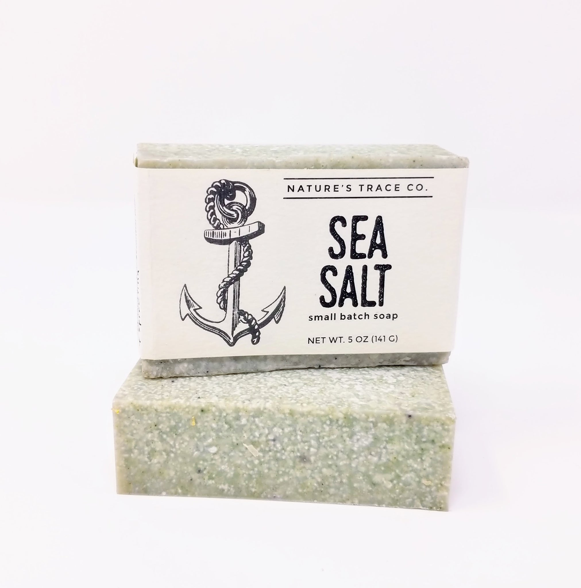 Nature's Trace Small Batch Soap - Sea Salt (Eucalyptus Spearmint)