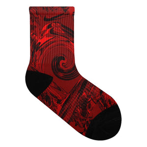 Pacific Red Black :  Chaussettes