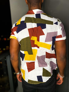 Papi Pattern Short Sleeves