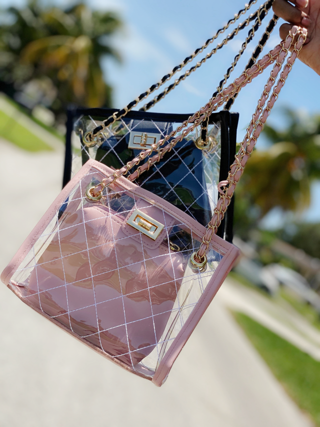 Cute Clear Crossbody Purse