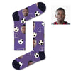 Custom Soccer Face Socks