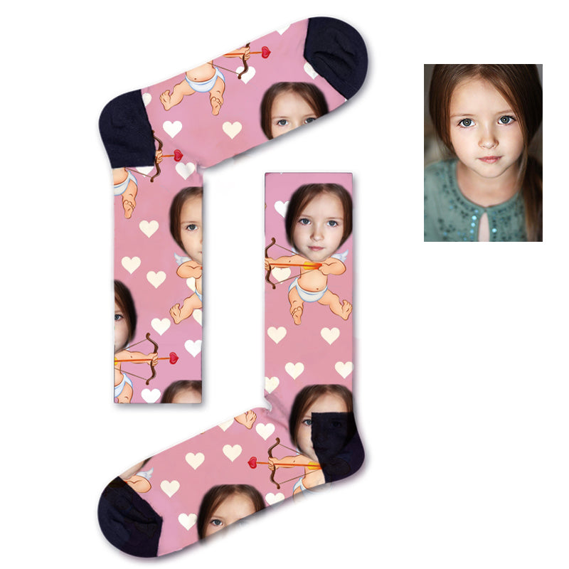 Custom Face Baby Socks