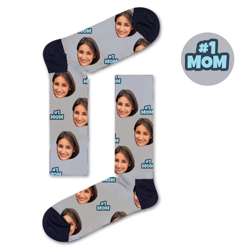 Custom MOM Socks - Custom Socks|Custom dog socks|Cat socks|Face Socks|Photo socks