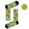 Custom Candy Corn Socks