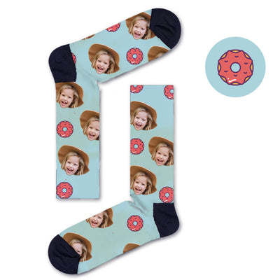 Custom Donut Socks