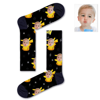 Custom Pikachu Socks