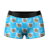 Custom Cat Face Boxer Shorts