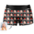 Custom Lover Face Boxer Shorts