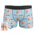 Custom Unicorns Face Boxer Shorts