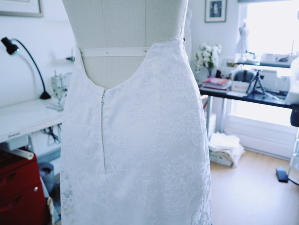 The Making of a Bridal Gown: The Series Thus Far