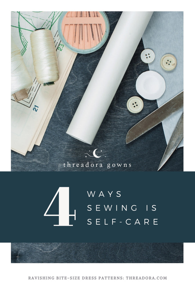 ways sewing is self-care