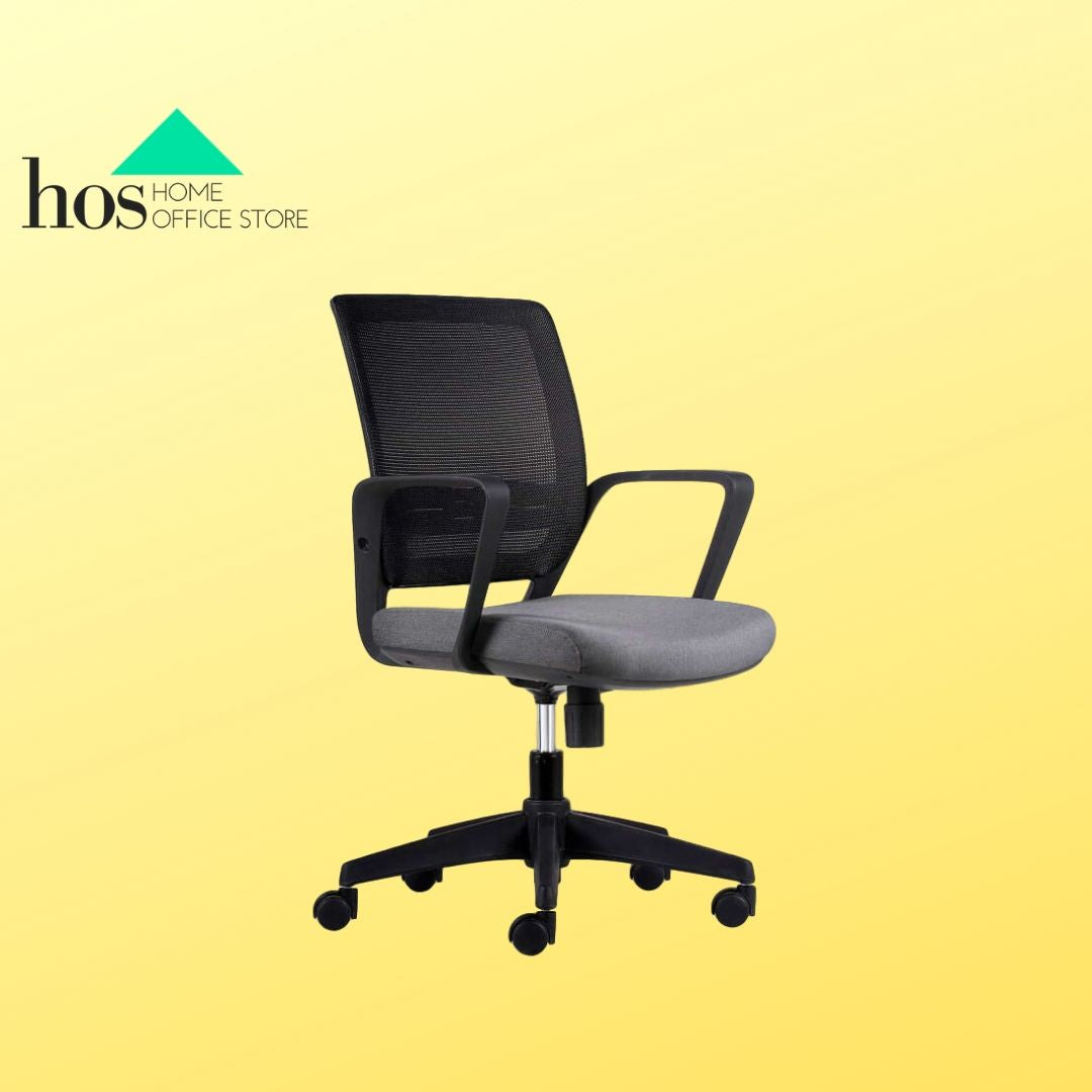 Silla Work Gris Oscuro