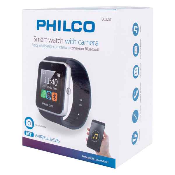 Smart Watch Bt S032B Philco