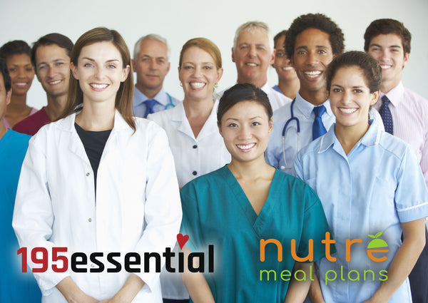 195essential Collaborates with Nutré Meal Plans to Help Feed Nurses!