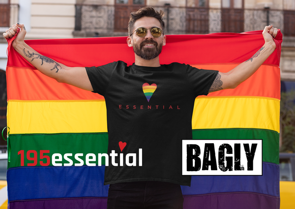 195essential Collaborates with BAGLY to Celebrate Pride Month