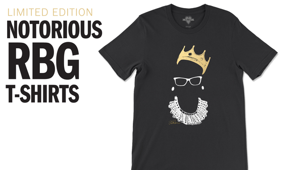 195essential Creates T-Shirt to Honor the Legacy of Justice Ruth Bader Ginsburg