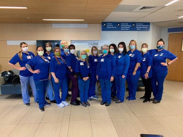 Nurses Fly To Mass. To Care For Patients