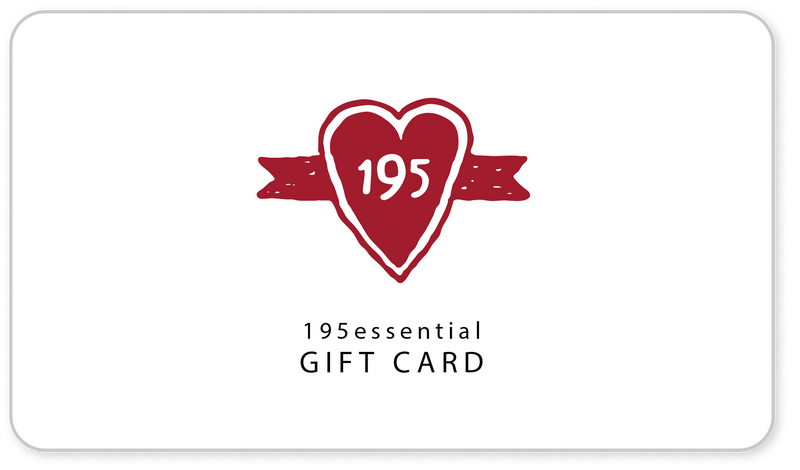 195essential Gift Card