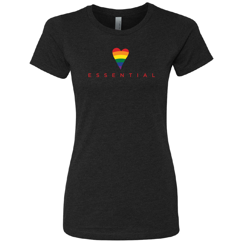 Load image into Gallery viewer, Essential Pride T-Shirt (Womens)