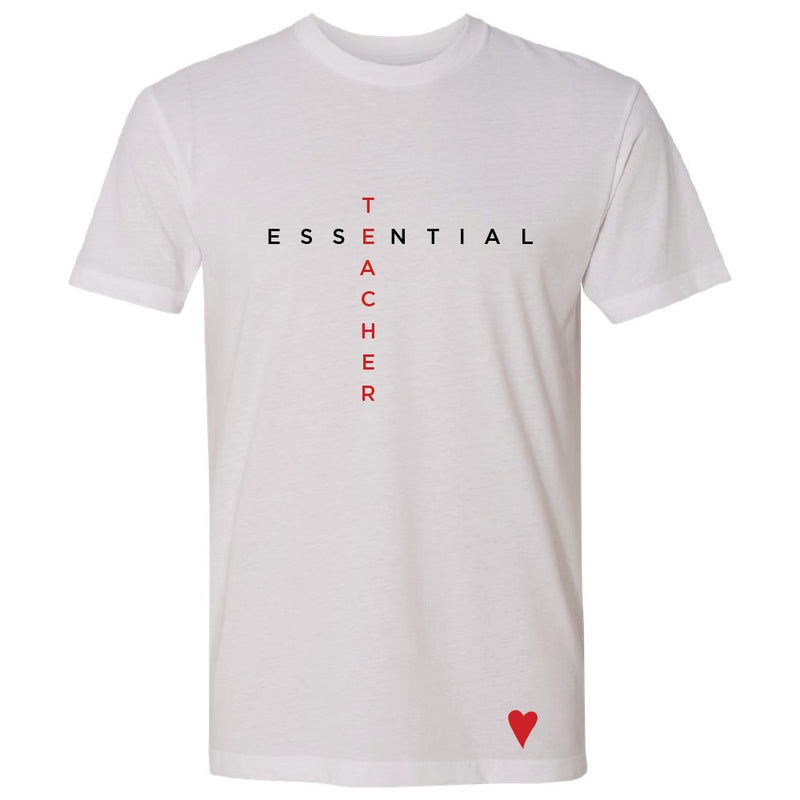 Essential Teacher T-Shirt (Mens/Unisex)