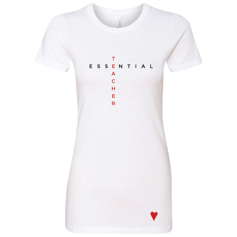 Essential Teacher T-Shirt (Womens)