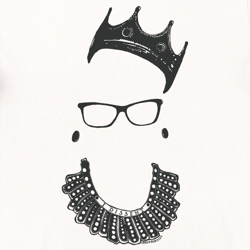 Notorious RBG T-Shirt - Vintage White