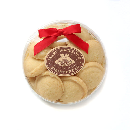 Traditional Mini Shortbread Cookies