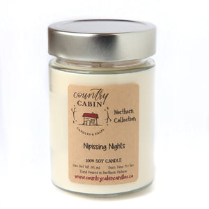 "Soy Wax Candle ""Northern Collection"""