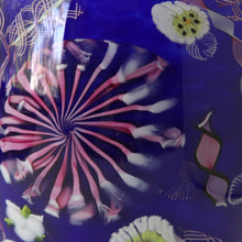 "Load image into Gallery viewer, ""Starburst"" hand-blown vase"