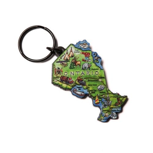 Ontario key ring