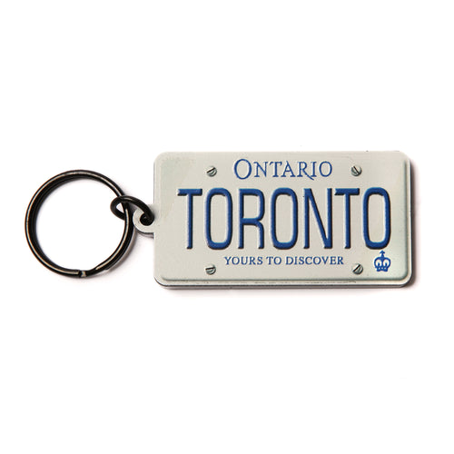 Ontario licence plate key ring