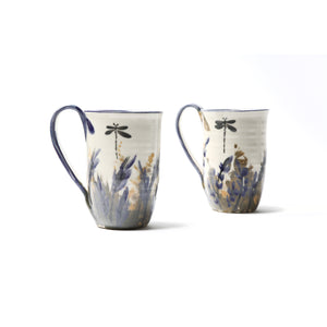 "Hand-painted mug ""Lavender Collection"""