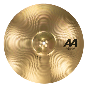 "SABIAN 14"" AA Medium Hat Top ONLY Brilliant Cymbal 21402/1B"