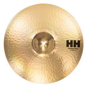 "SABIAN 14"" HH Medium Hat Top ONLY Brilliant Cymbal 11402/1B"