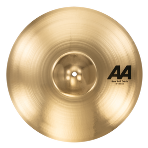 "SABIAN 16"" AA Raw Bell Crash Brilliant Finish Cymbal 2160772B"