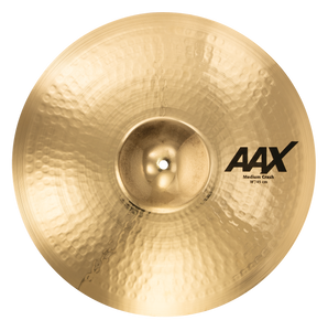 "SABIAN 18"" Medium Crash AAX Brilliant Finish Cymbal 21808XCB"