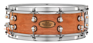 "Pearl Music City Custom Solid Cherry 14""x5"" Snare Drum HAND-RUBBED NATURAL MCCC1450S/C1000"