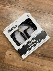 VHT 18' Ultra Black Instrument Cable