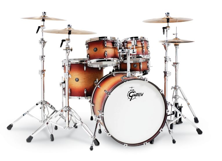 Gretsch Renown 5 Piece Drum Set (22/10/12/16/14sn) RN2-E825-STB