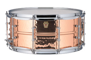 Ludwig 6.5X14 COPPER HAMMERED W/TUBE Snare Drum LC662KT