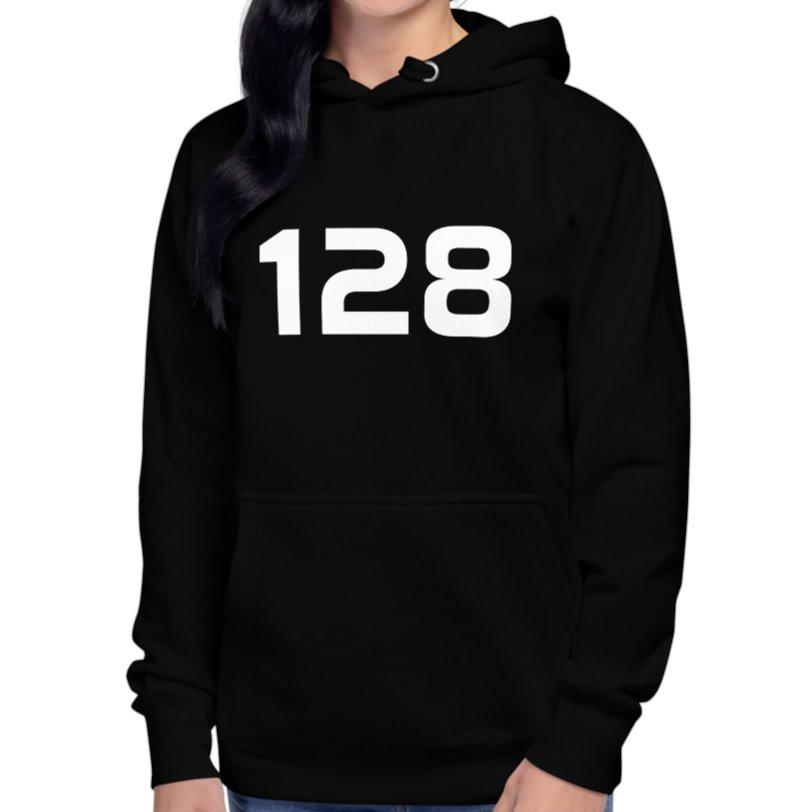 128 Skarpnäck Hoodie Womens XL on The Good Shop Online Store