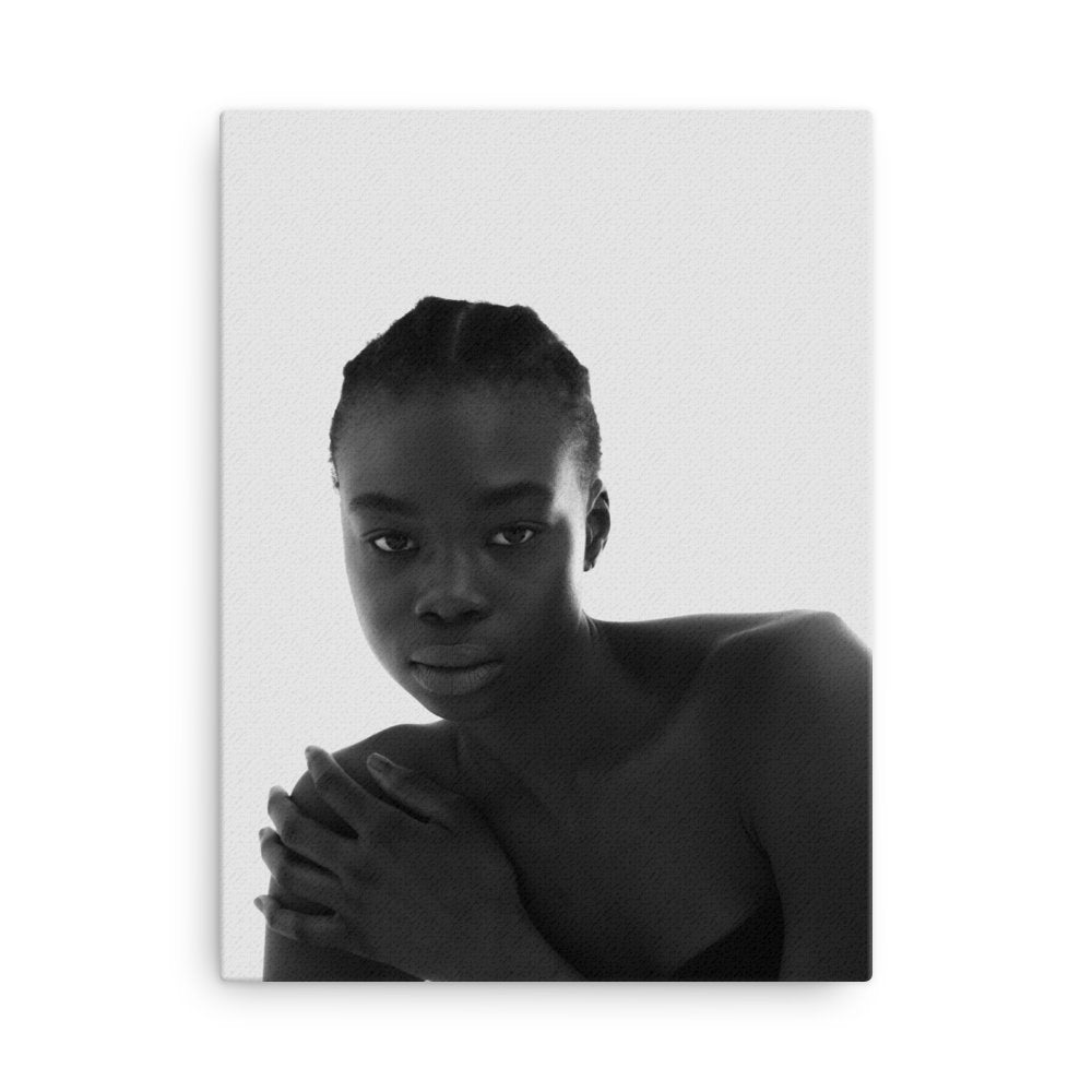 Aji Drammeh Canvas Photo Print - Ida Zander on The Good Shop Online Store