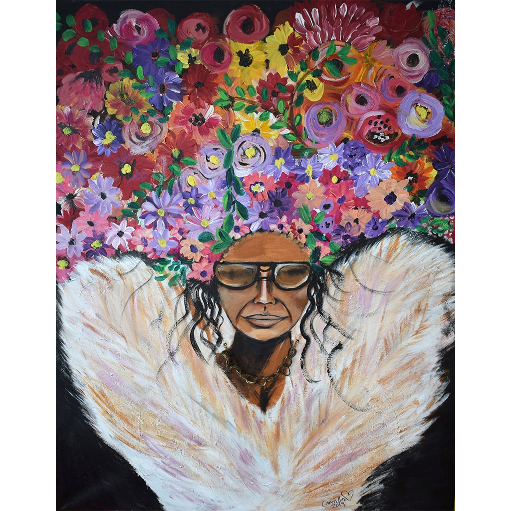 Angel - Original Painting by Camilla Dahlström - Art by Anuya on The Good Shop Online Store
